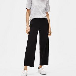 Eileen Fisher Viscose Black Pants